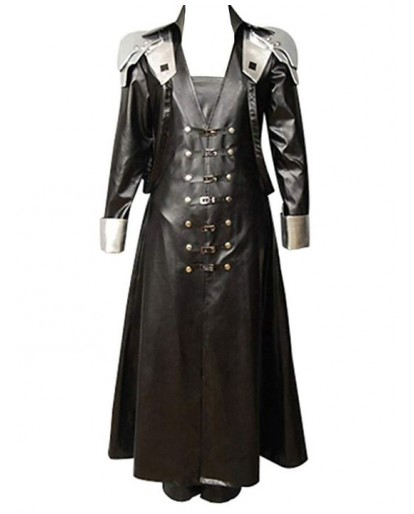 Final Fantasy VII Sephiroth Cosplay Costume Coat