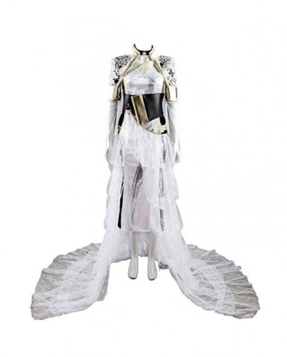 Final Fantasy XV Lunafreya Nox Fleuret Cosplay Costume Suit Set
