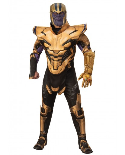 Marvel Avengers Endgame Thanos Cosplay Costume Jumpsuit