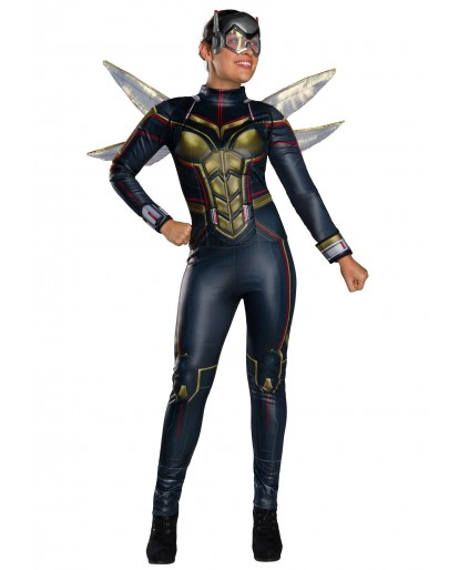 Avengers Endgame Wasp Cosplay Costume Jumpsuit