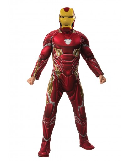 Avengers Infinity War Iron Man Cosplay Costume Jumpsuit
