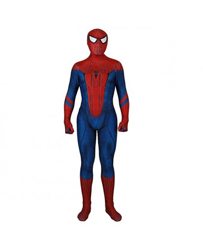 The Amazing Spider-man 3D Original Movie Spider-man Cosplay Costume