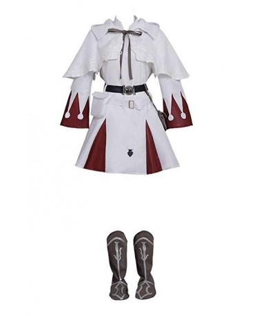 Final Fantasy XIV White Mage Cosplay Costume Dress