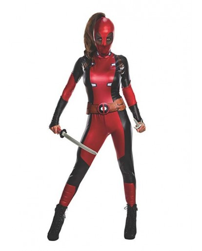 Deadpool Cosplay Costume Women Costume