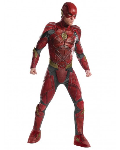 Justice League Flash Cosplay Costume Jumpsuit