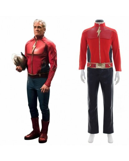 The Flash Jay Garrick Cosplay Costume