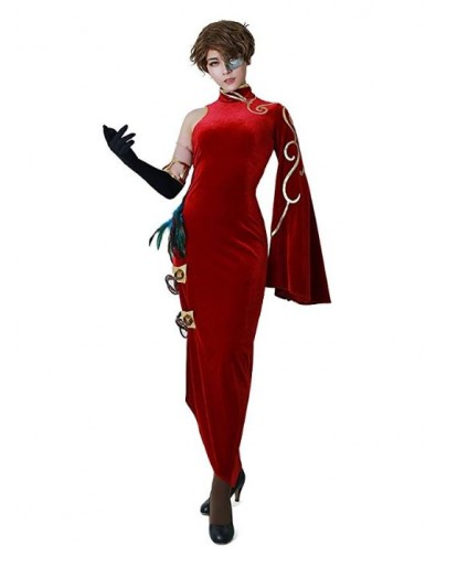 RWBY Cinder Fall Cosplay Costume Dress