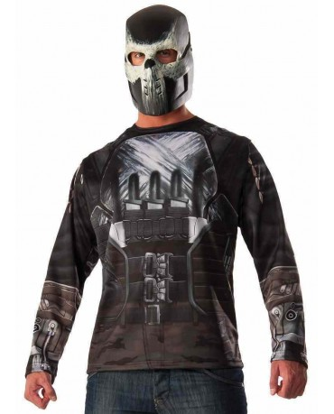 Captain America Crossbones Cosplay Costume