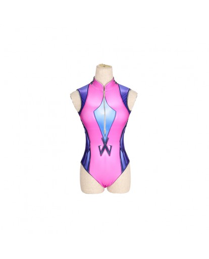 Overwatch OW Widowmaker Cosplay Costume Swimwear
