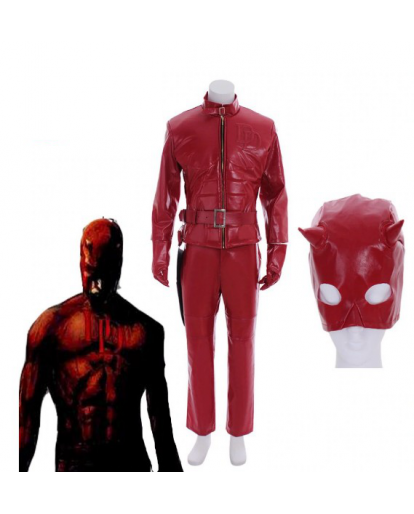 Daredevil Matt Murdock Cosplay Costume Rouge Adult Men's Halloween Outfit Costume
