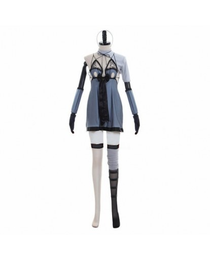 NieR: Automata DLC YoRHa No. 2 Type B 2B Cosplay Costume Swimsuit