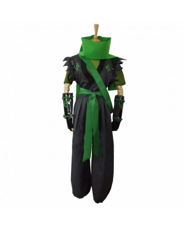 OW Overwatch Genji sparrow Cosplay Costume