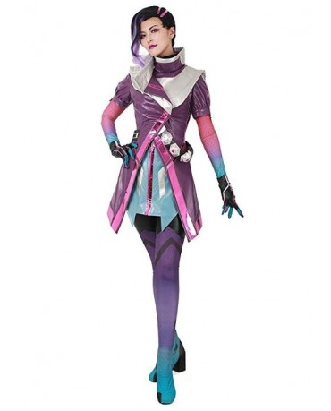 OW Overwatch Sombra Cosplay Costume