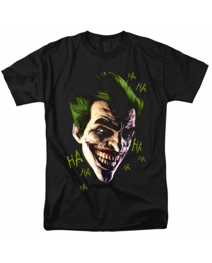 Batman Arkham Origins Joker Cosplay Grin T-shirt