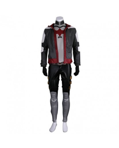 Batman Arkham Knight Red Hood Jason Todd Cosplay Costume