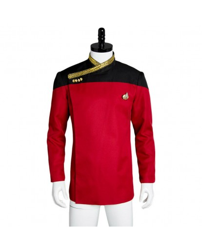 Star Trek Jean-Luc Picard Cosplay Costume