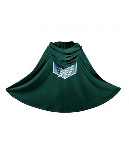 Attack on Titan Cosplay Green Cloak