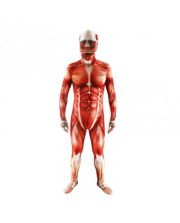 Attack on Titan Tights Muscle Man Cosplay Costume