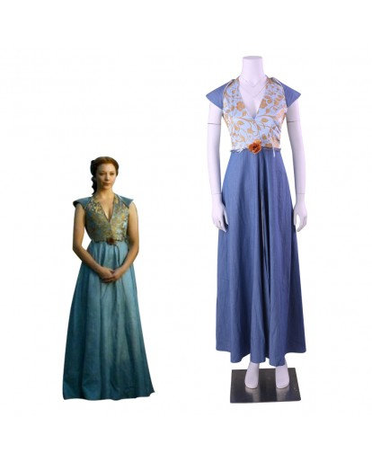 Game of Thrones Queen Margaery Tyrell Cosplay Costume
