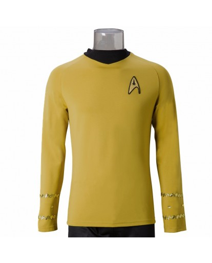 Star Trek Beyond Captain James T. Kirk Cosplay Costume
