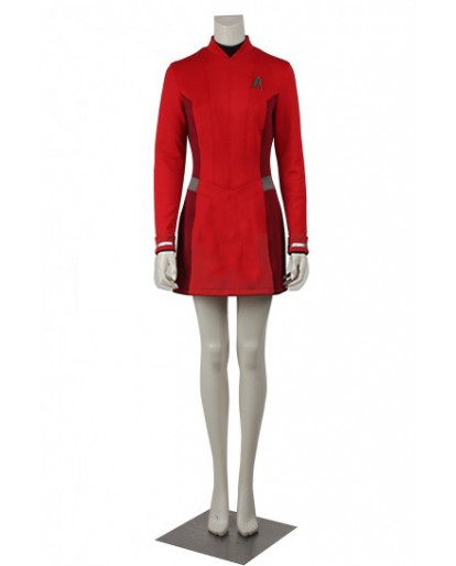 Star Trek Beyond Nyota Uhura Cosplay Costume Dress