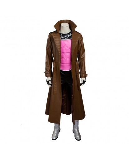 X-Men Gambit Cosplay Costume