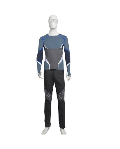 The Avengers Age of Ultron Quicksilver Cosplay Costume