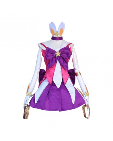 Game LOL Star Guardian Lux Cosplay Costume