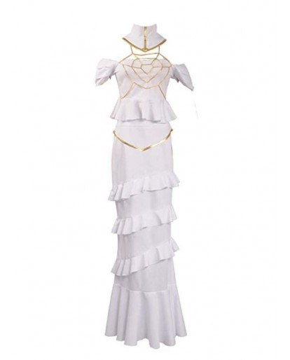Overlord Albedo Cosplay Costume Dress