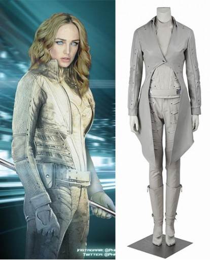 White Lance Sara Lance Legends Of Tomorrow Cosplay Costume