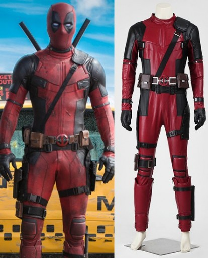 X-Men Deadpool Wade Halloween Party Cosplay Costume