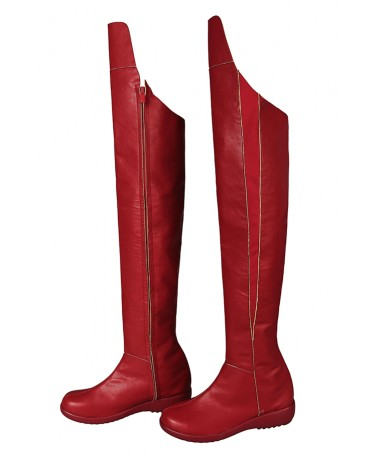 Supergirl Kara Zor-L Female Cosplay Shoes Boots