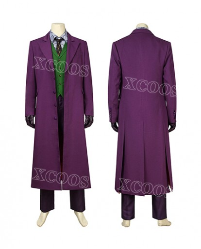 Batman: The Dark Knight The Joker Cosplay Costume