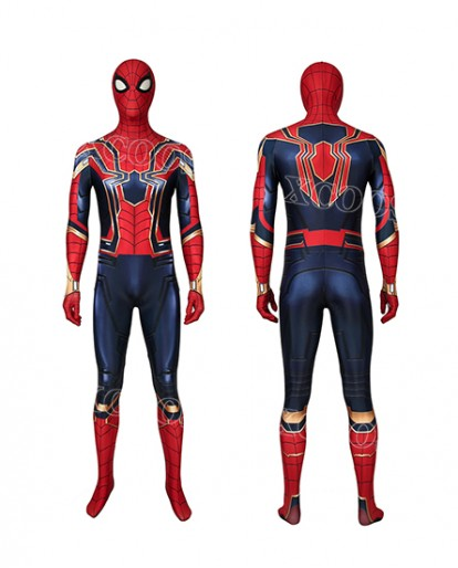 Avengers: Endgame Iron Spiderman Peter Parker Cosplay Costume