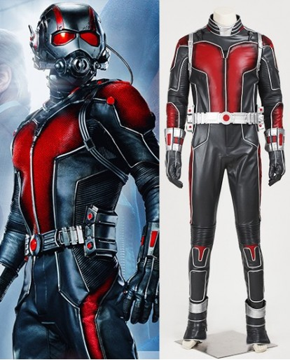 Deluxe Ant-Man Scott Lang Cospaly Costume