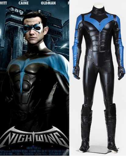 Batman: Arkham City Nightwing Cosplay Costume