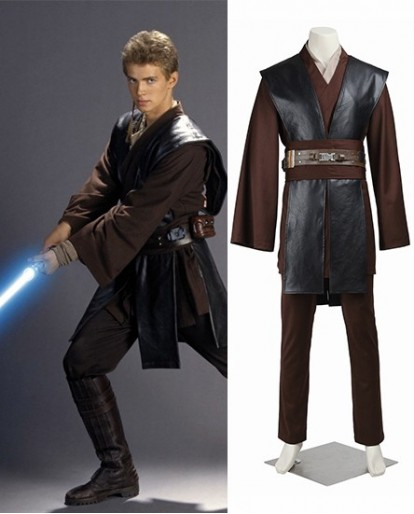 Jedi Knight Anakin Skywalker Star Wars Cosplay Costume