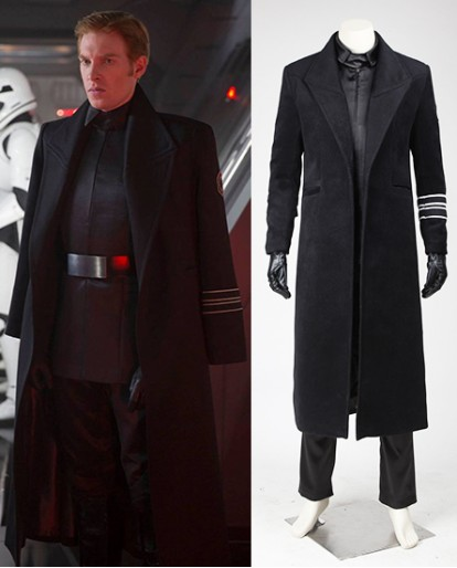 Hux Star Wars The Force Awakens Cosplay Costume