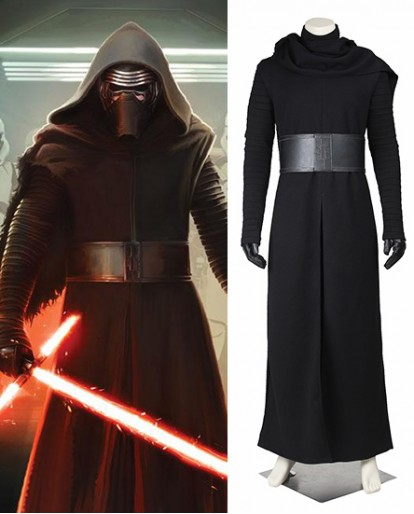 Kylo Ren Star Wars The Force Awakens Cosplay Costume