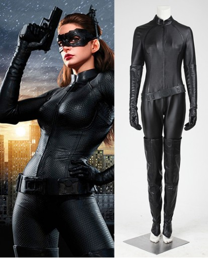 Catwoman Selina Kyle Batman The Dark Knight Rises Cosplay Costume