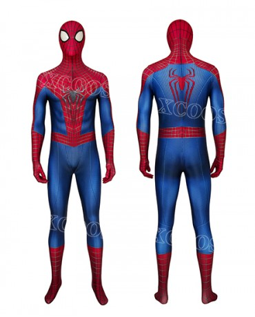 The Amazing Spider-Man 2 Spiderman Peter Parker Cosplay Costume