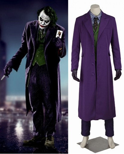 Batman The Dark Knight Clown Cosplay Costume