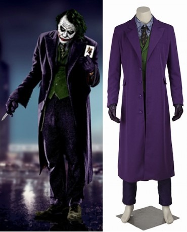 Batman The Dark Knight Clown Costume