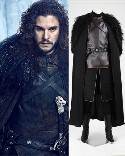 Jon Snow Game Of Thrones A Song of Ice And Fire Cosplay Costume