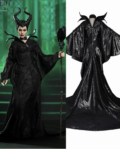Maleficent Halloween Cosplay Costume
