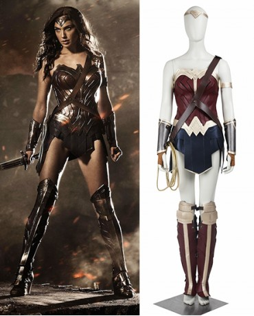 Wonder Woman Diana Prince Batmen VS SupermanDawn Of Justice Costume