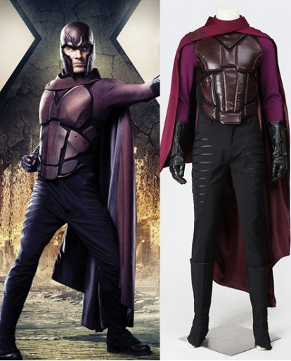 X-Men: Days of Future Past Magneto Cosplay Costume