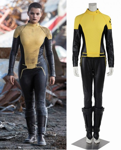 Negasonic Teenage Warhead X-Men Deadpool Cosplay Costume