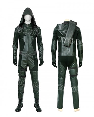 Arrow Season 8 Oliver Queen Cosplay Costume