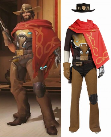 HunderJesse McCree Overwatch Bounty Costume